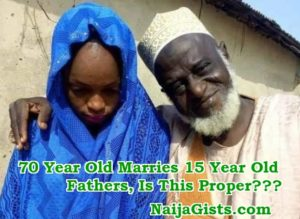 Wedding Of 70 Year Old Nigerian Man & 15 Year Old Girl: A Religion-Inspired Child Sexual Abuse Act