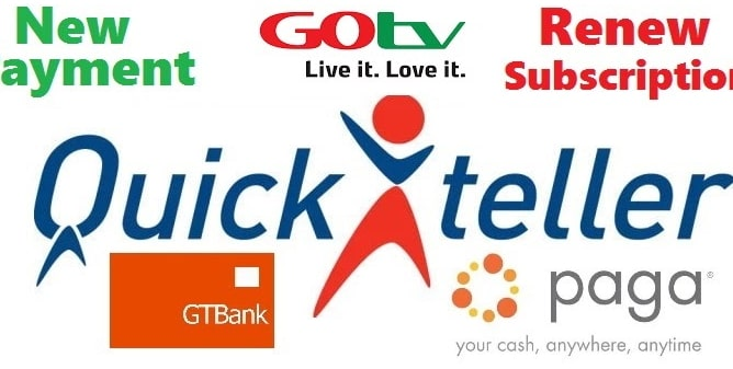 How To Recharge GOtv Using eTranzact