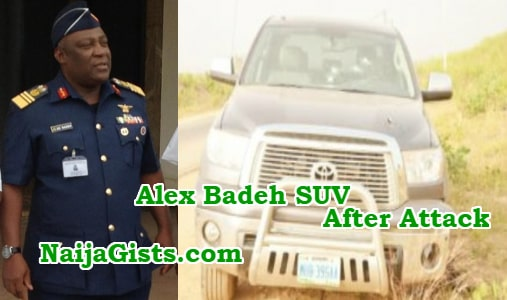 alex badeh runs into robbers operating on bad road
