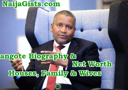aliko dangote biography net worth