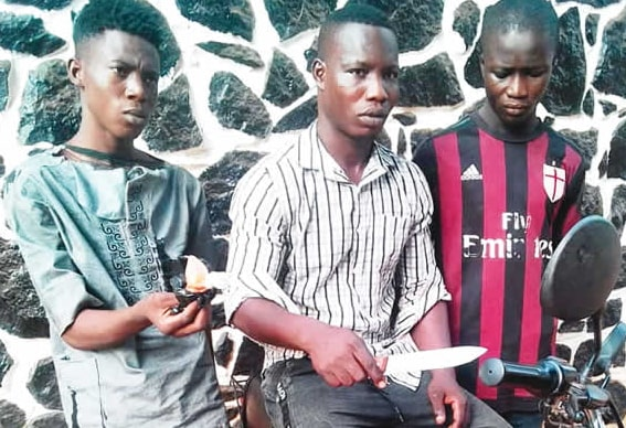armed robbers blow pepper eyes victims ogun state