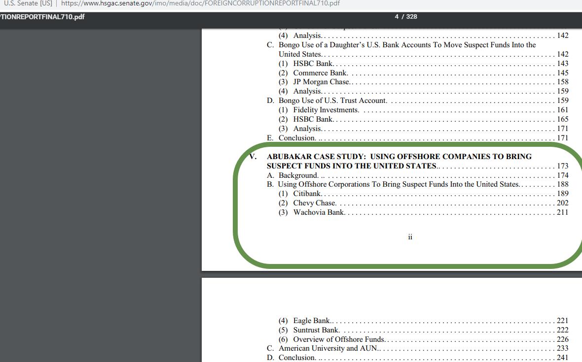 atiku abubakar corruption study