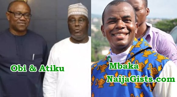 atiku obi mbaka attack donations