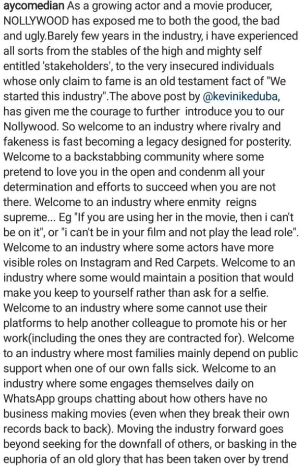 ayo makun nollywood