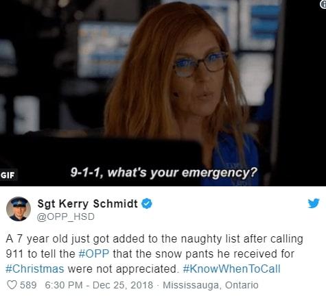 boy calls 911 parents snow pant christmas gift