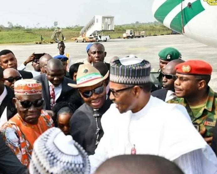buhari next level rally uyo