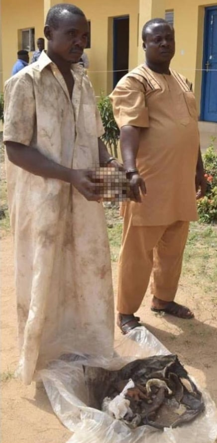 business man arrested human head ile ife
