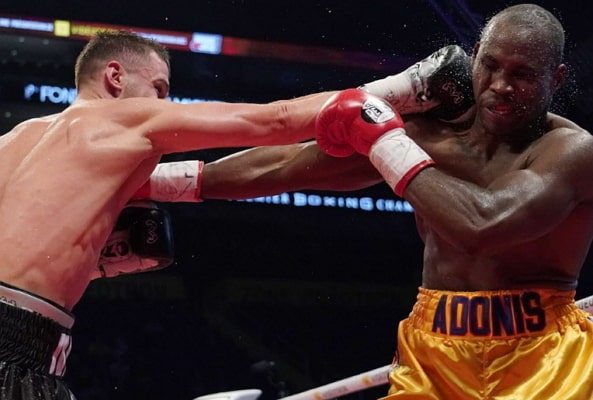 canadian boxer loses title ukranian