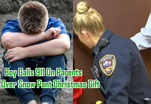 canadian boy calls 911 parents snow pant christmas gift