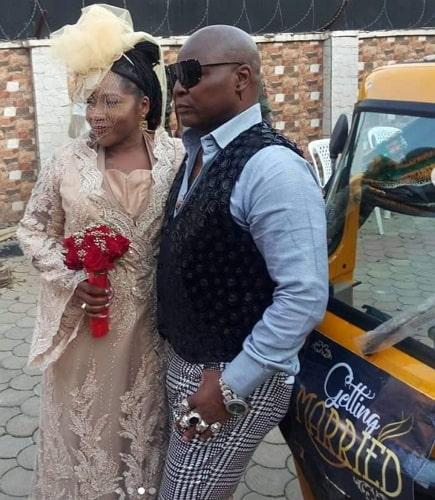 charly boy renews wedding vow