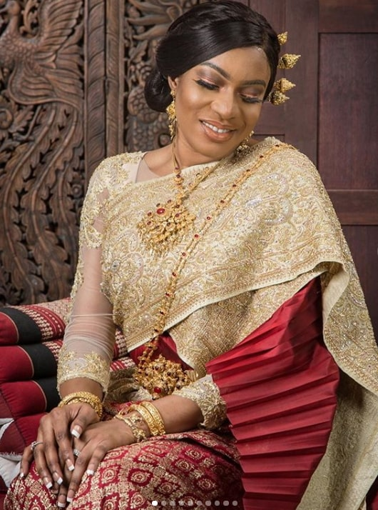 chika ike thailand wedding outfit