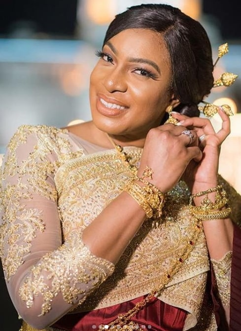 chika ike wedding photos