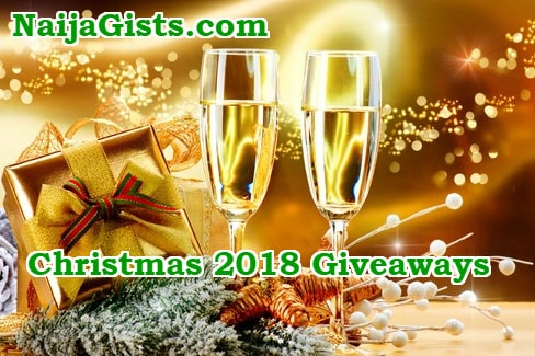 Christmas Giveaways 2019.Christmas Gifts Giveaways 2018 Come Early For Ng Top 10