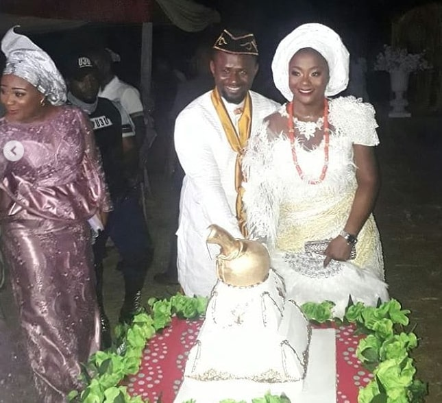 emem morgan wedding pictures