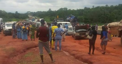 fatal accident Benin Auchi Abuja Highway