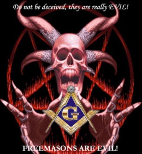 freemasons are evil