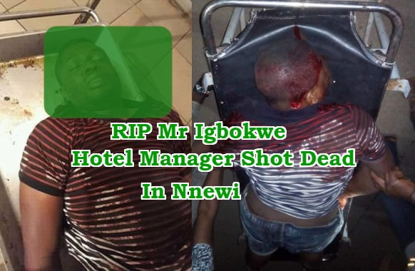 hotel manager killed robbers nnewi anambra