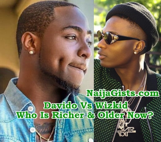 wizkid and davido age net worth