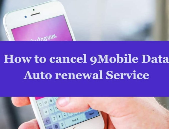 how to cancel 9mobile data auto renewal