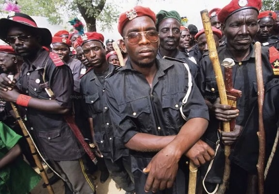 hunters demand salaries fight boko haram