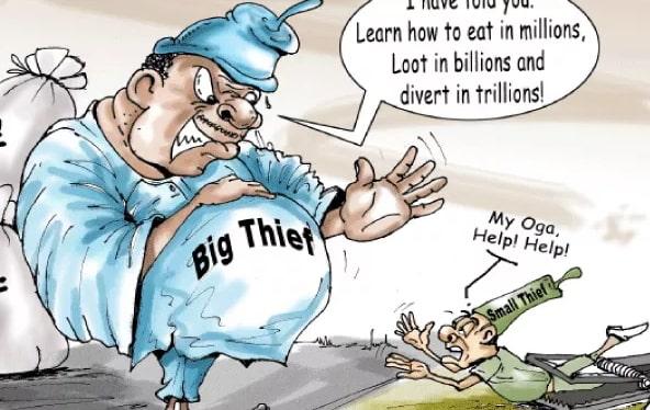 invoke god's vengeance corrupt nigerian politicians