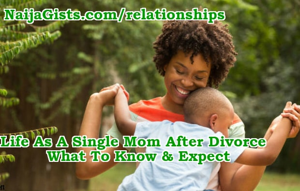 life as a single parent mom after divorce