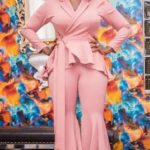 mercy johnson latest dress