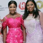 mercy johnson pink dress