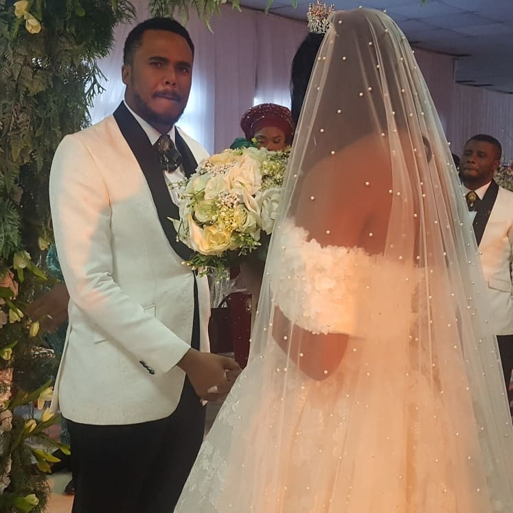 michael okon wedding pictures