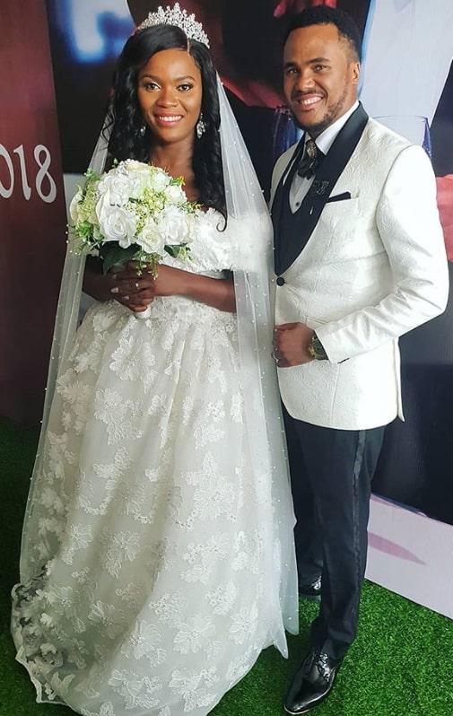 michael okon wife