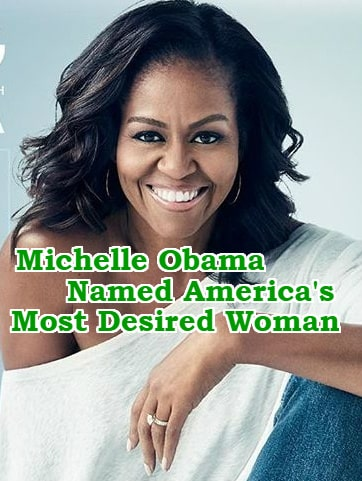 michelle obama america most loved woman