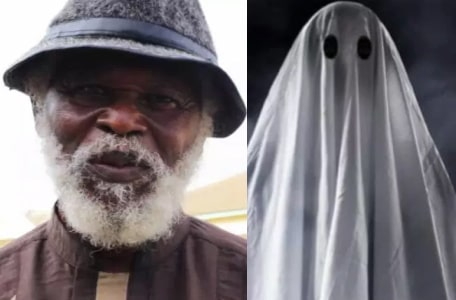 nigerian actor lived ghost