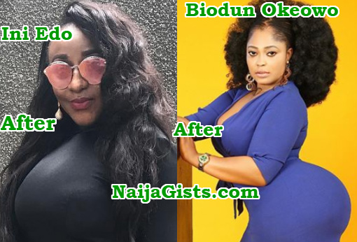 nigerian celebrities plastic surgeries before after photos