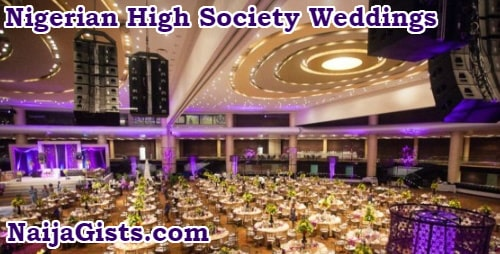 nigerian high society weddings