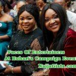 nollywood stars supporting buhari