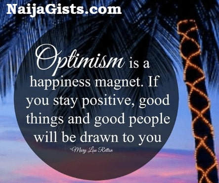 optimistic thoughts and quotes