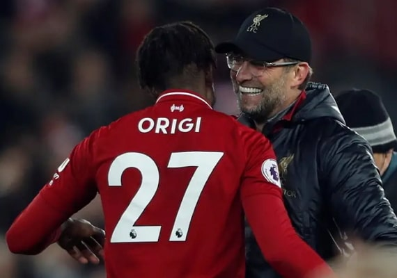 origi goal video liverpool everton