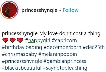 prince shyngle instagram