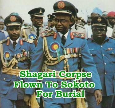 shehu shagari burial