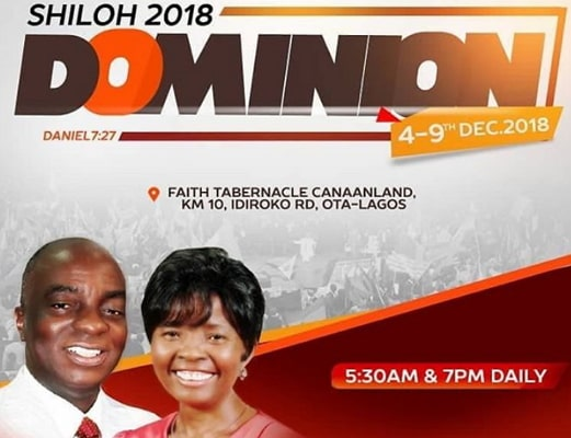 shiloh 2018 live broadcast streaming