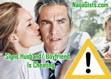 signs of a cheating husband cell phone
