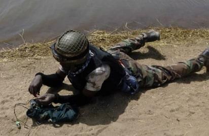 suicide bomber vest river borno state