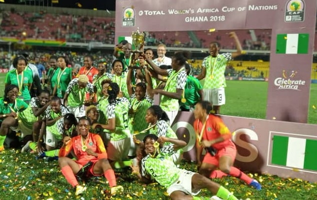 super falcons wins awcon 2018