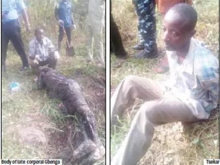 tiv leader kills policeman ogun state