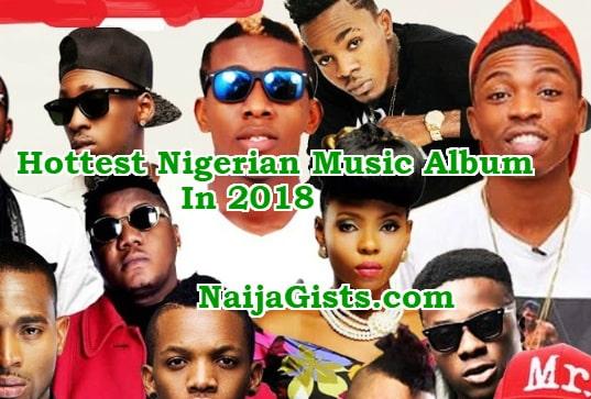 top 10 nigerian music album 2018