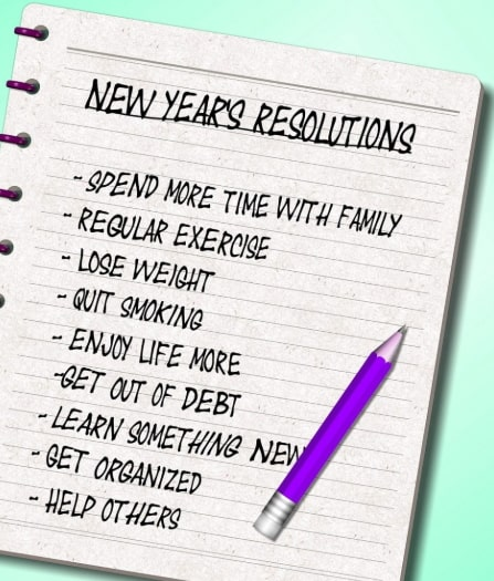 unique new year's resolutions
