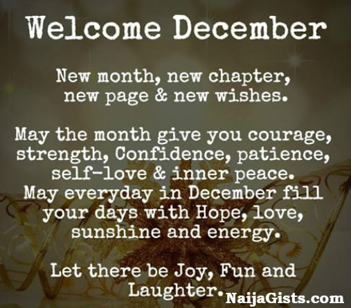 Welcome December 2018 Happy December Motivational Quotes Saying