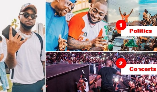 why davido nysc service cancelled