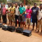 yahoo boys arrested benin edo state 2018