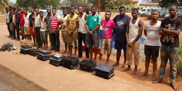 22 convicted yahoo boys arrested benin edo state 2018